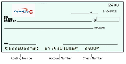 Capital One Bank Routing Number Locations Near Me Usa Bank