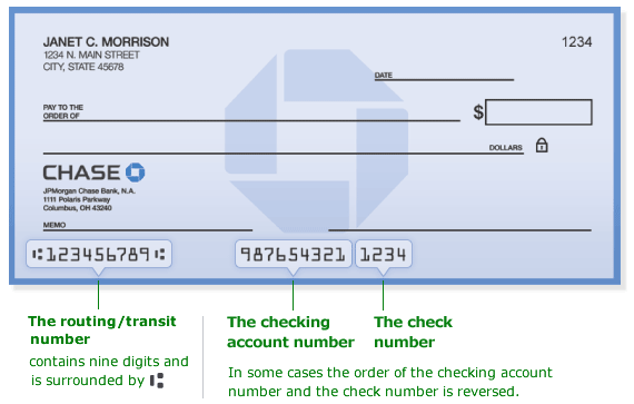 Chase Bank Routing Number New York City